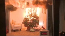 Christmas Tree Fires Can Turn Devastating And Deadly Within Seconds